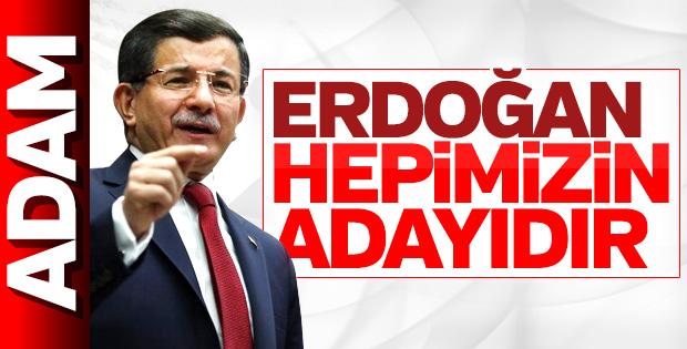 Ahmet Davutoğlu'ndan Cumhurbaşkanı Erdoğan'a tam destek