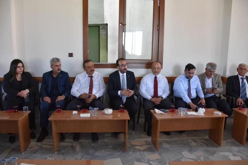 AK Parti milletvekilleri Yavuz ve Bekle Şırnak'ta açılışa katıldı, ziyaretlerde bulundu