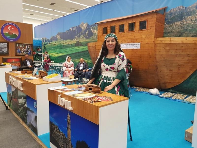 Ankara Turizm Fuarı'nın Gözdesi, idil Standı Oldu