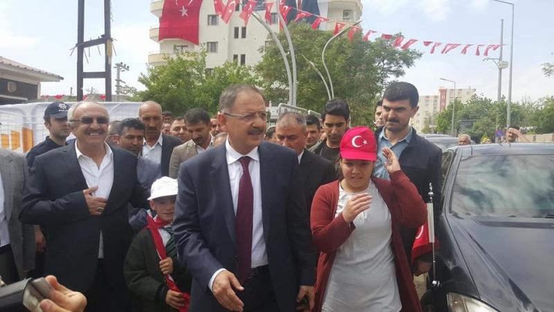 Çevre Ve Şehircilik Bakanı Mehmet Özhaseki İdil'de Toplu Açılış Törenine Katıldı.