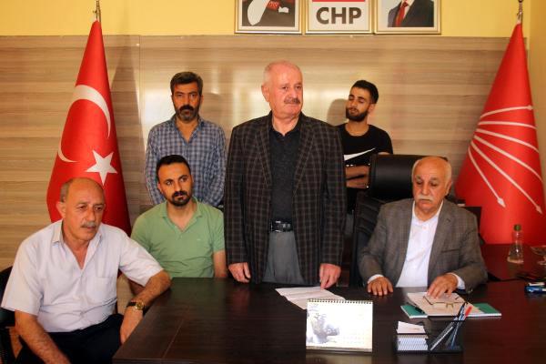 CHP Şırnak İl ve Merkez İlçe Yönetimi İstifa Etti