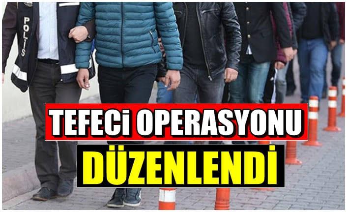 Cizrede tefecilik operasyonunda 2 tutuklama