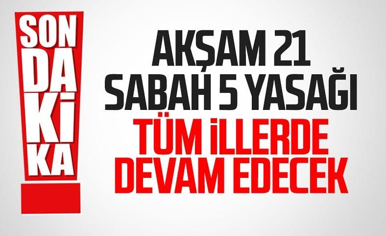 Cumhurbaşkanı Erdoğan: Hafta içi uygulanan kısıtlama devam edecek
