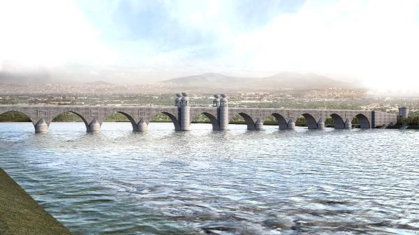 Dicle'nin İki Yakası, 327 Metrelik Taş Köprüyle Bağlanacak