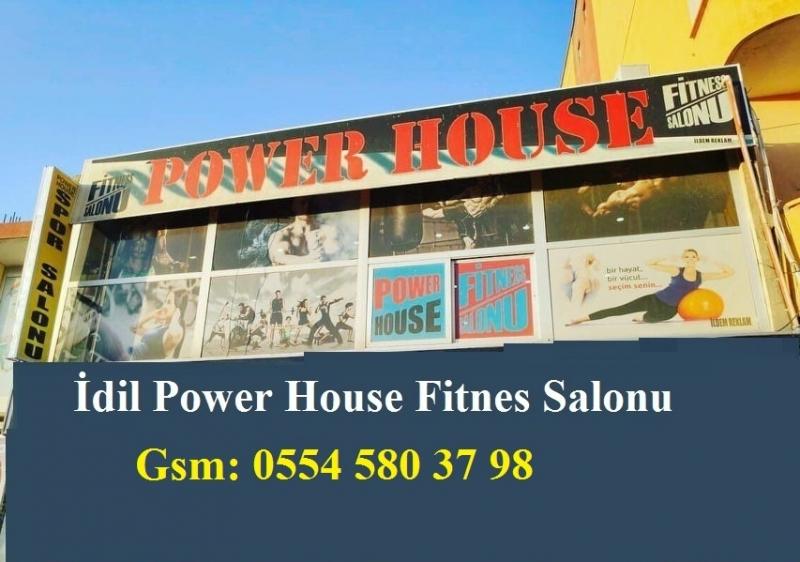 Fit Olmanız İçin İdil Power House Fitness Hizmetinizde