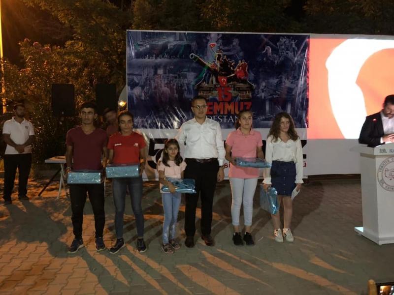İdil'de 15 Temmuz Demokrasi ve Milli Birlik Günü buluşması