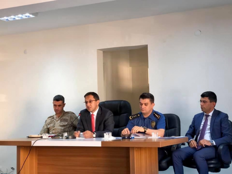 İdil'de 2019-2020 Eğitim- Öğretim Toplantısı Yapıldı.
