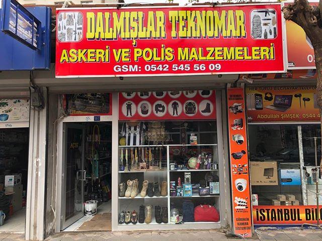 İdil'de Dalmışlar Askeri ve Polis Malzeme Spor Outlet Giyim Mağazası Hizmete Girdi