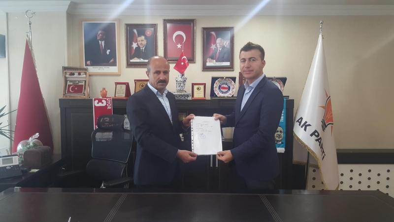 İdil'li İş Adamı İkbal Miroğlu AK Parti Şırnak Millet Vekili Aday Adayı Oldu.