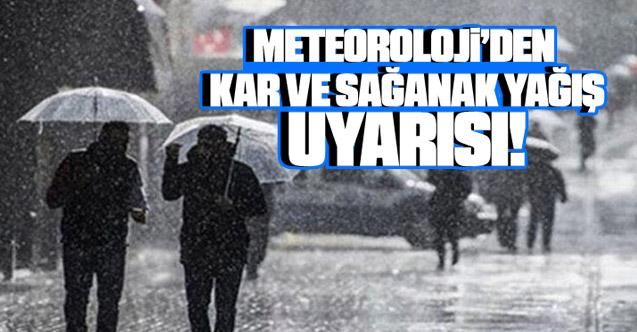 Meteoroloji Uyardı: Şırnak için kar ve sağanak uyarısında bulundu