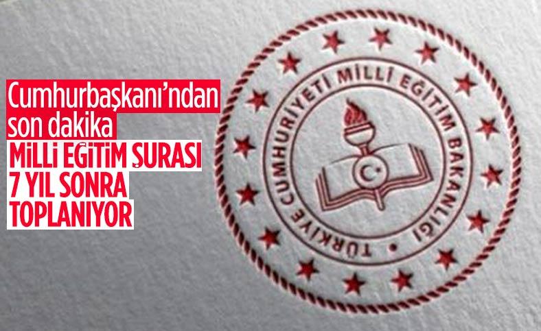 Milli Eğitim Şurası 1-3 Aralık tarihleri arasında toplanacak