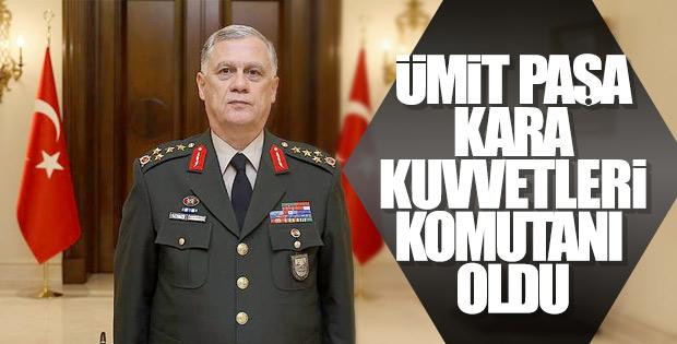 Orgeneral Ümit Dündar, Kara Kuvvetleri Komutanı oldu