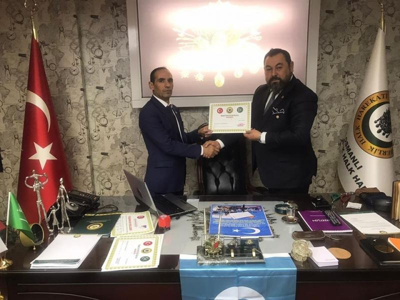 Osmanlı Seferberlik Halk Harekatı, Şırnak İl Başkanlığına İdil'li Abdulvahap Görgin Getirildi.