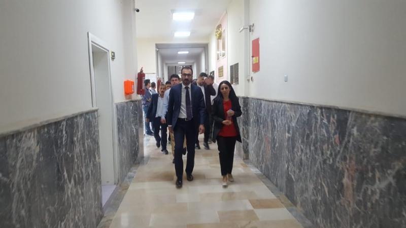 Şırnak AK Parti Milletvekili adayları resmi kurumları ziyaret etti