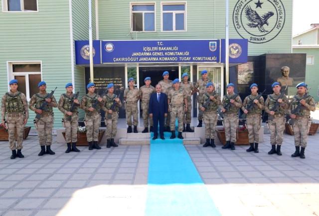 Şırnak Valisi Mehmet Aktaş'tan Yeni Atanan Komutana Ziyaret