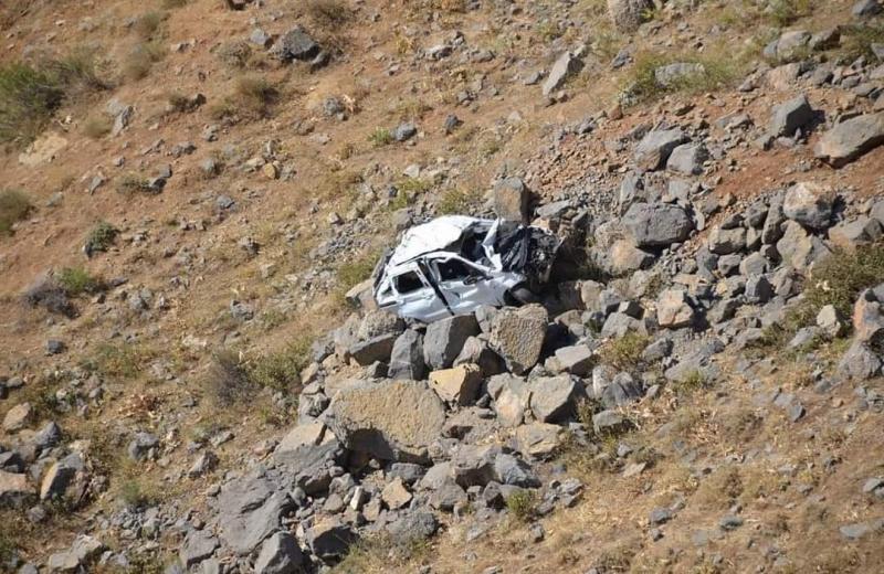Şırnak'ta düğün yolunda kaza: 2 ölü, 1 yaralı