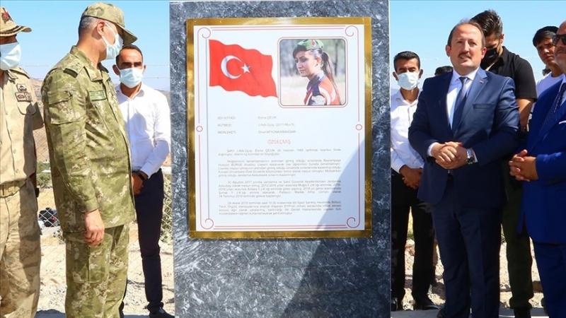 Şırnak'ta petrol keşfedilen kuyuya İdil'de şehit Olan Esma Çevik'in adı verildi