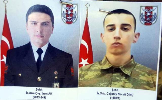 Şırnak'ta Şehit Askerler İçin Tören