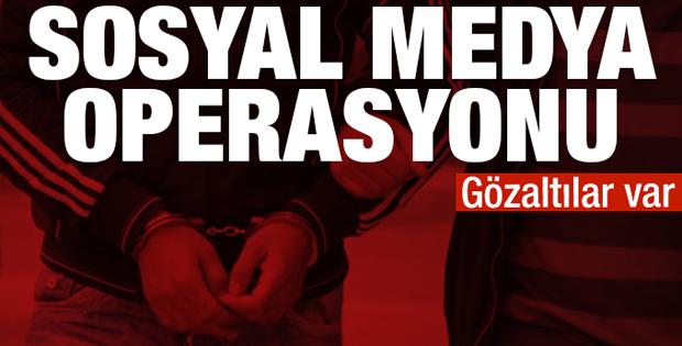 Sosyal medyada PKK propagandasına 10 gözaltı