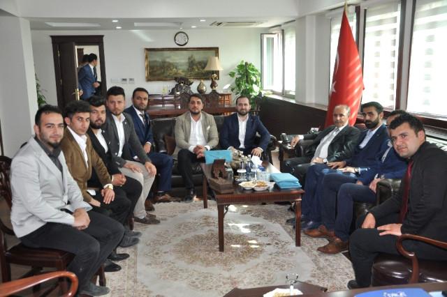 Tügva Genel Başkan Yardımcısı Yüksel,  Şırnak Valisi Mehmet Aktaş'ı Ziyaret Etti