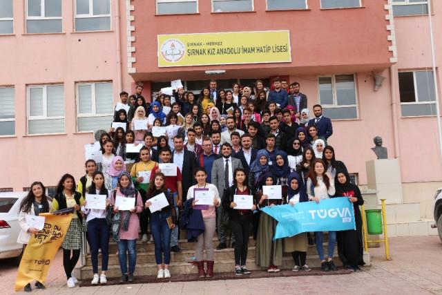 Tügva Şırnak Genç Türkiye Kongresi İl Çalıştayı Düzenlendi