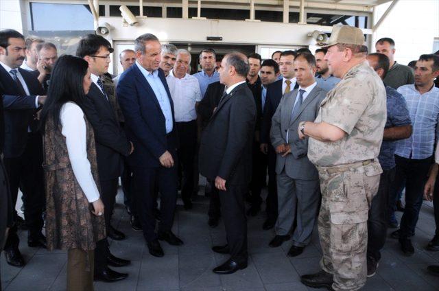 Yeni Emniyet Genel Müdürü Mehmet Aktaş'a Şırnak'ta görkemli karşılama