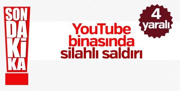 YouTube binasında saldırı; 4 yaralı