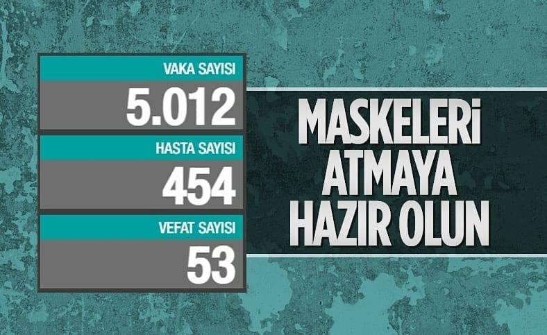 13 Haziran Türkiye'nin koronavirüs tablosu