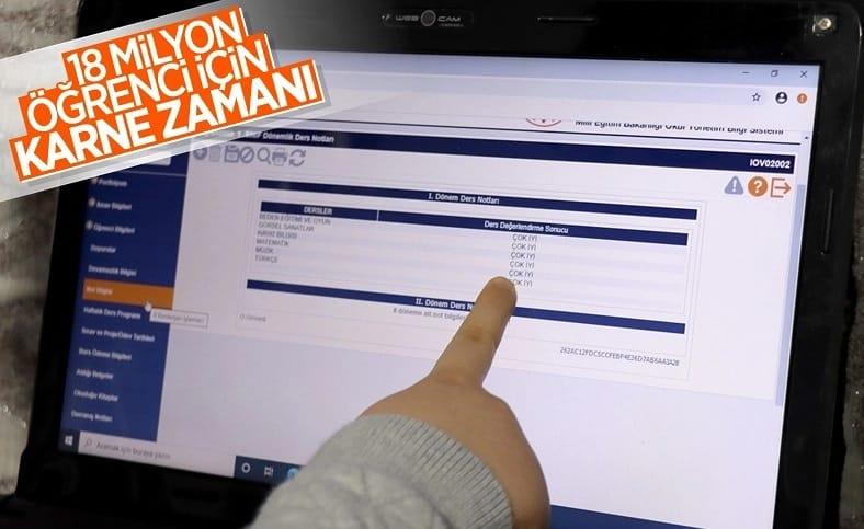 18 milyon öğrencinin dijital karneleri erişime açıldı