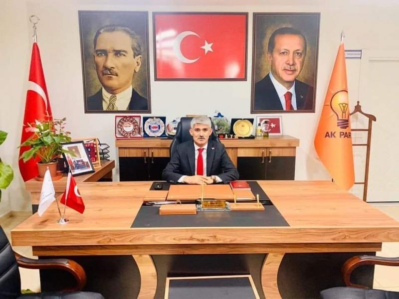 AK Parti idil İlçe Başkanı Murat Ay'dan Teşekkür Açıklaması.