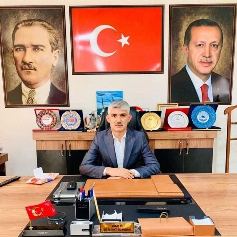 AK Parti idil İlçe Başkanı Murat AY Bayram Mesajı Yayımladı...