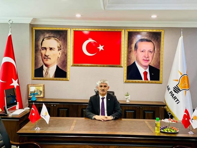 AK Parti idil ilçe Başkanı Murat Ay'dan  24 Kasım Öğretmenler Günü Mesajı