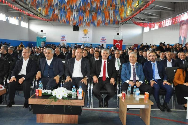 AK Parti İdil İlçe Kongresi Yapıldı İlçe Başkanı Murat Ay Güven Tazeledi