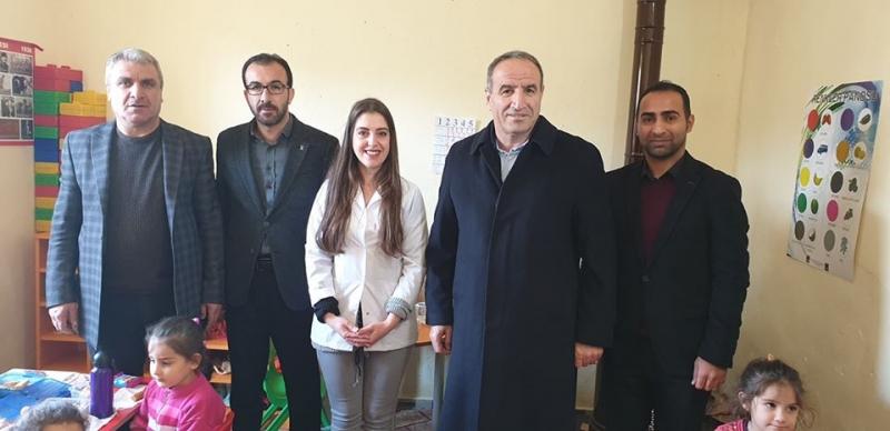 AK Parti Şırnak Milletvekili Rizgin Birlik İdil'de Köy Ziyaretlerinde Bulundu.