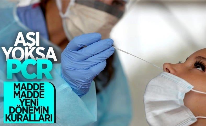 Eylül'den sonra koronavirüse karşı alınacak tedbirler