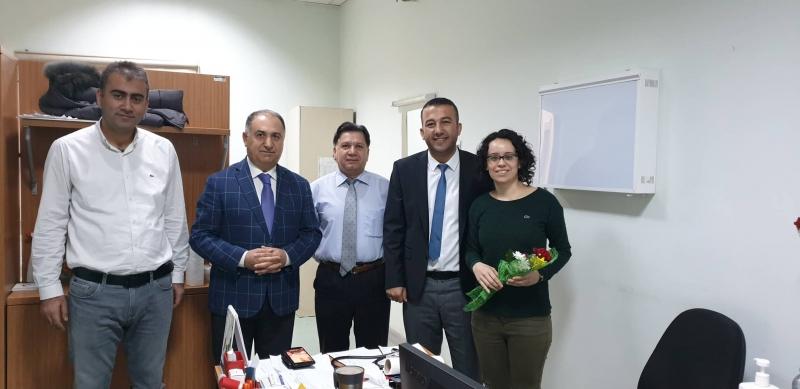 İdil Devlet Hastanesi Başhekimi Uz.Dr Feyat Tunç 14 Mart Tıp Bayramını kutladı