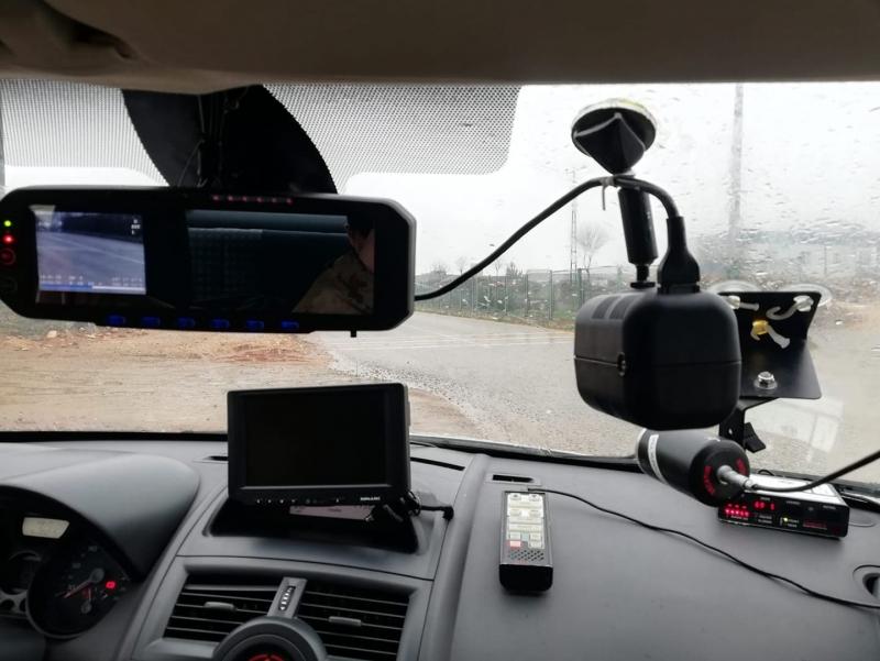 İdil İlçe genelinde radar ile hız kontrolü yapılmaktadır.