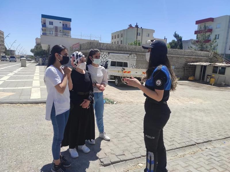 İdil polisi 112 acil çağrı merkezi hattı hakkında vatandaşları bilgilendirdi