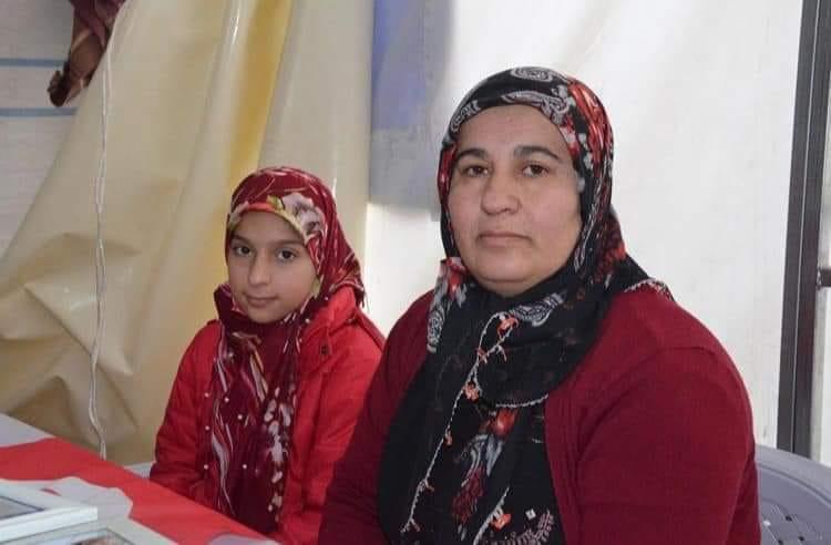 idil'de 14 yaşında kaçırılan Oğlu için eyleme Katılan Anne Hamdiye Arslan: