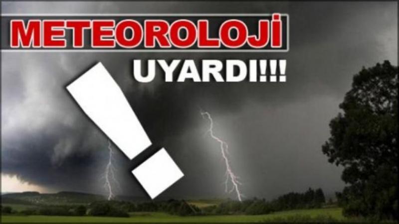 Meteorolojiden Şırnak İçin fırtına ve sağanak uyarısı
