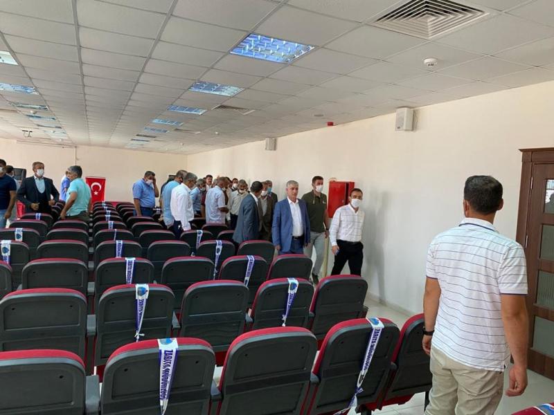 MHP Heyetinden idil Kaymakamı Refik Özsoy'a Ziyaret