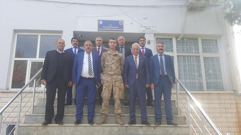 MHP Şırnak il Başkanı Özdemir idil'de Bir Dizi Ziyaret Gerçekleştirdi