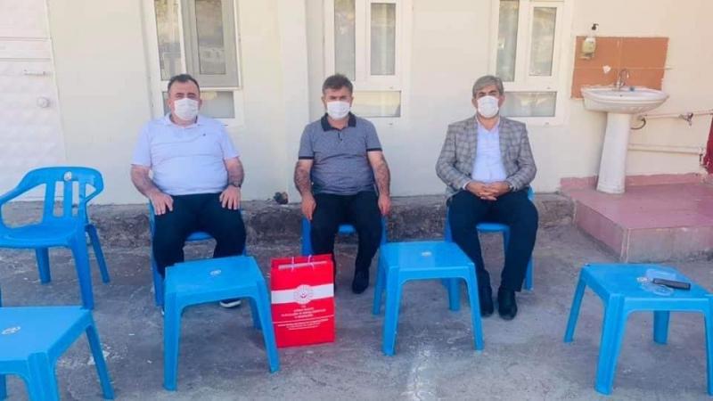 Şırnak Aile Ve Sosyal Hizmetler İl Müdürü Muzaffer Akçam idil'de Şehit Ailelerini Ziyaret Etti