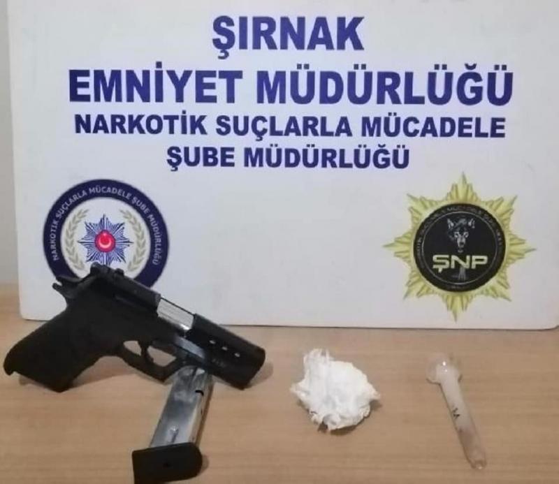 Şırnak'ta Kaçakçılık ve asayiş operasyonları 27 Gözaltı