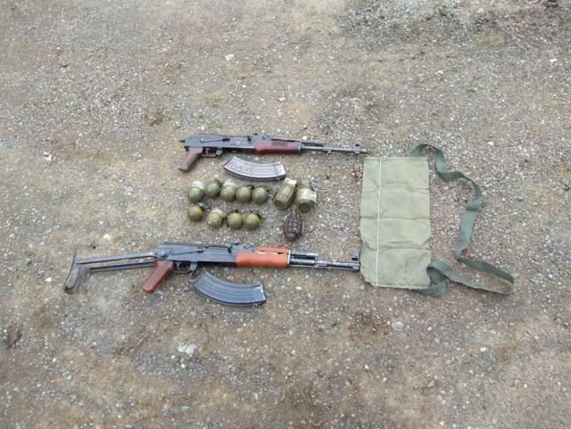 Şırnak'ta Menfezde PKK'ya Ait Silah ve Mühimmat Bulundu
