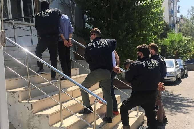 Şırnak'ta PKK/KCK'ya yönelik operasyonlarda yakalanan 14 şüpheliden 6'sı tutuklandı