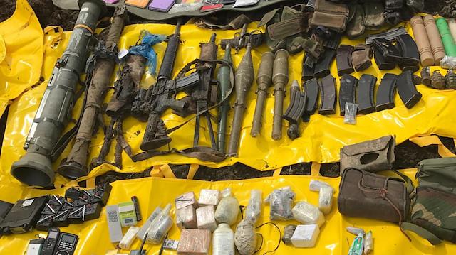 Şırnak'ta PKK'ya Ait Silah ve Mühimmat Ele Geçirildi