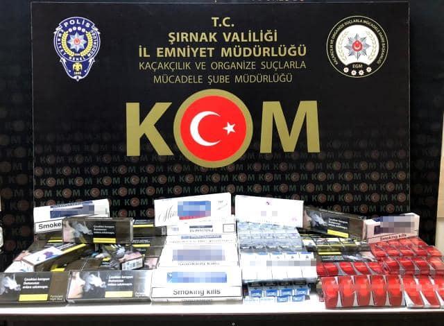 Şırnak'ta uyuşturucu ve kaçakçılık operasyonlarında gözaltına alınan 18 şüpheliden 1'i tutuklandı