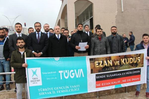 Şırnak'ta Yeni Zelanda'daki Müslümanlara Saldırılara Tepki
