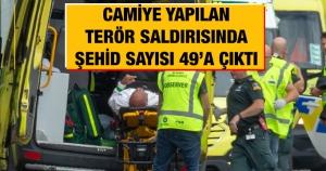 Camiye yapılan terör saldırısında Şehid sayısı 49'a çıktı